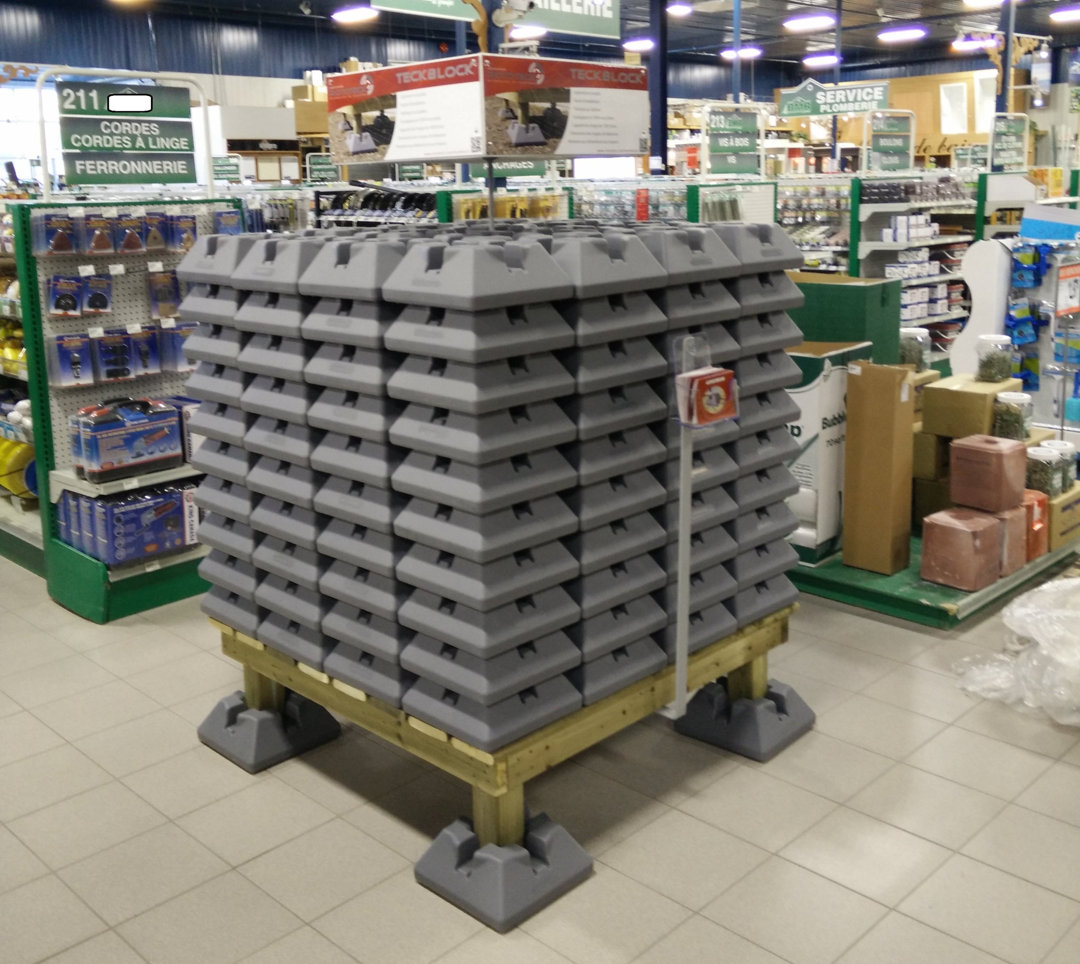 Rototeck Block en magasin